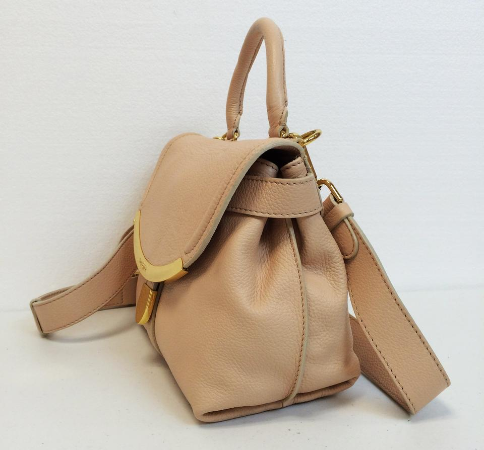 See By Chloé Lizzie Small Satchel Light Pink Leather Shoulder Bag Tradesy