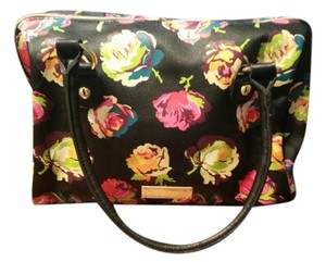 Betsey Johnson Flower Large Tote in Multi Color/Pattern