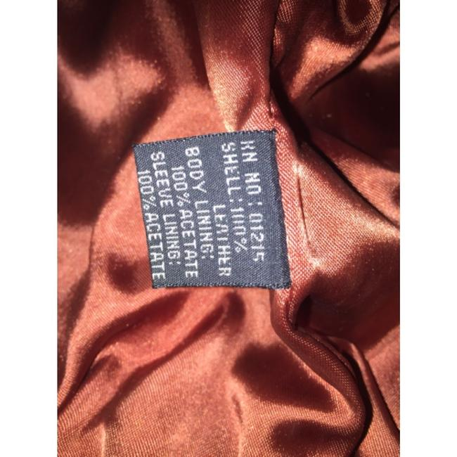 Shin IL Brown Leather Jacket Image 9