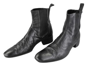 Gucci Leather Ankle Designer Black Boots