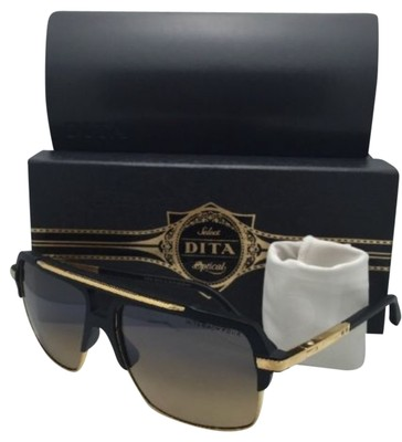 0137eff223be Dita Mach One Sunglasses With Black gold Frame And G15 Lenses ...