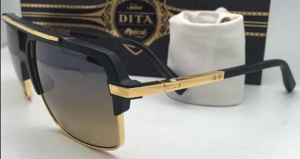 4274f1a5a7fd Dita New Polarized DITA Sunglasses MACH FOUR DRX-2070-A Black   18K Gold.  12345678910