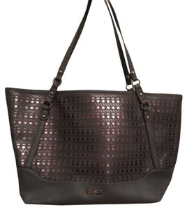 Jessica Simpson Tote in Silver/Charcoal