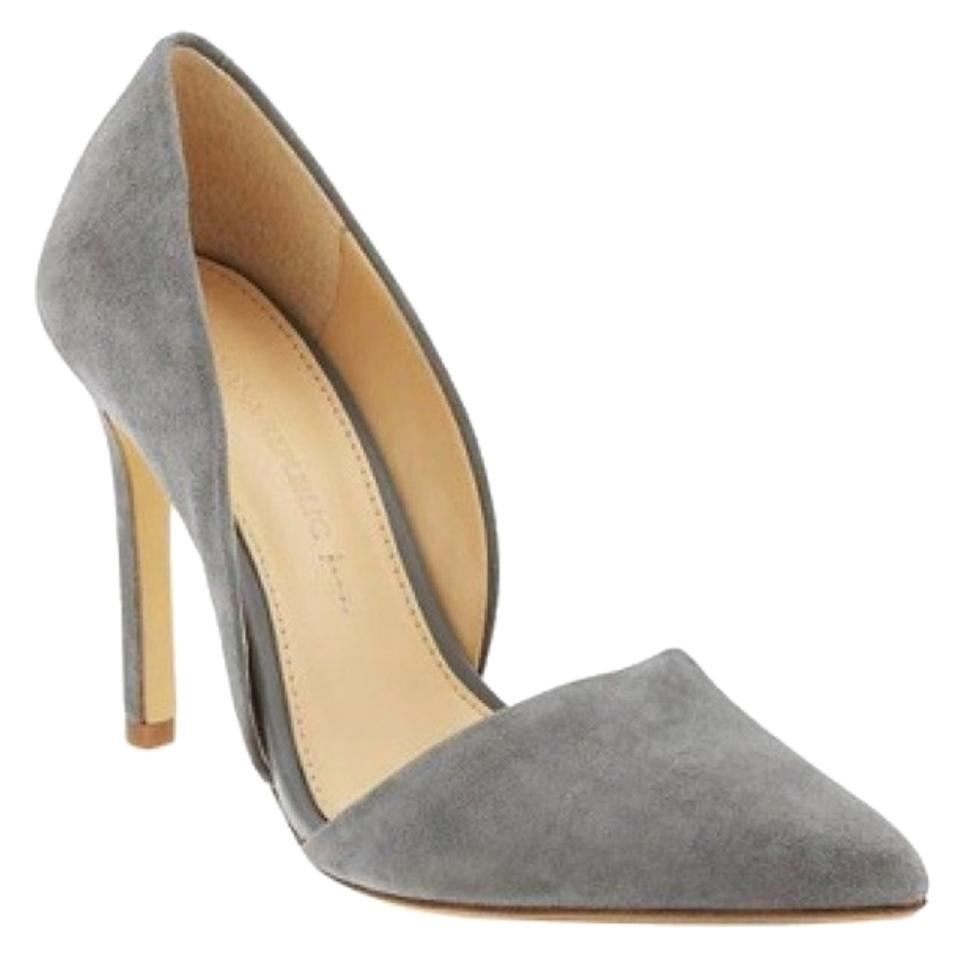 Banana Kitten Republic Kitten Banana Grey Adelia D'orsay Pumps dbd7af
