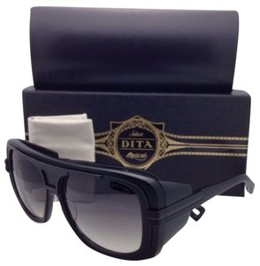 Dita Eyewear New DITA Sunglasses TITAN DRX-2032B-59 Black Frame w/Side Shields & Grey Gradient Lenses