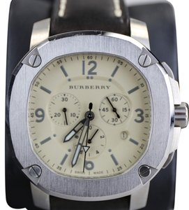 Burberry Burberry Men's The Britain Chronograph Watch BBY1101 Leather Strap