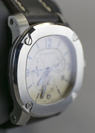 Burberry Burberry Men's The Britain Chronograph Watch BBY1101 Leather Strap Image 1
