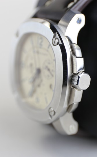 Burberry Burberry Men's The Britain Chronograph Watch BBY1101 Leather Strap Image 2