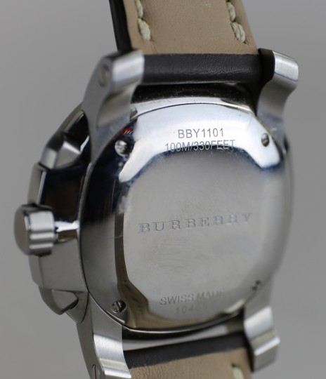 Burberry Burberry Men's The Britain Chronograph Watch BBY1101 Leather Strap Image 4