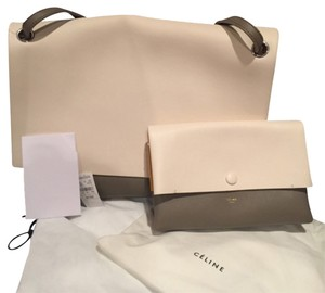 Céline Satchel in Ivory