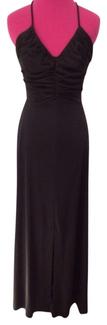 Preload https://img-static.tradesy.com/item/883371/black-vintage-pacino-california-gathered-maxi-long-cocktail-dress-size-8-m-0-0-650-650.jpg