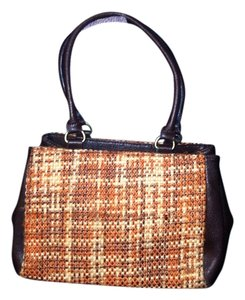 Emilie M Wool Polyester Shoulder Bag