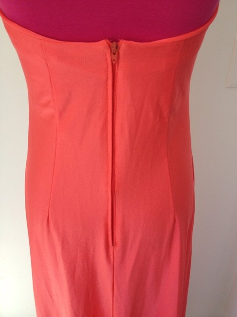 Other 70's Maxi Halter Poly Spring Summer Chic Sexy Classic Wedding Casual Versatile Long Orange Dress