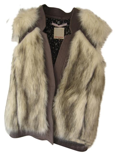 Preload https://img-static.tradesy.com/item/8834173/rebecca-taylor-taupe-faux-fur-and-fabric-floral-lining-vest-size-6-s-0-1-650-650.jpg