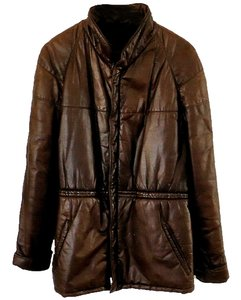 Kings Road Lambskin Leather brown Leather Jacket