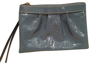 Coach Wristlet in Medium Blue