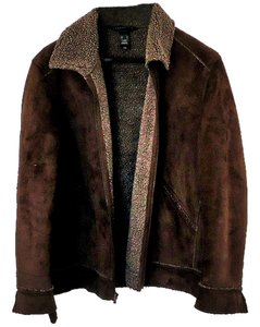 Crazy Horse by Liz Claiborne Suede Textured brown Jacket