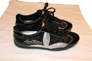 Louis Vuitton black Patent Athletic