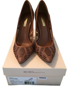 BCBGeneration Caramel Pumps
