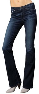 AG Adriano Goldschmied Stretchy Denim Boot Cut Jeans-Medium Wash