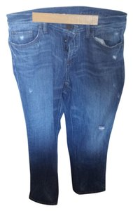 Ann Taylor LOFT Boyfriend Cut Jeans-Distressed