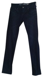 Express Dark Rinse Denim Skinny Jeans-Dark Rinse