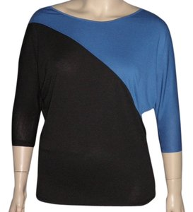 Sharagano Top Black/Blue