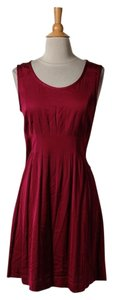 Theory short dress Tunic Top Red on Tradesy