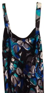IZ Byer California Black, Green, Blue, Gray, Silver Halter Top