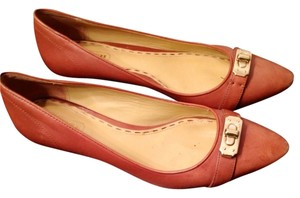 Coach Tan Pumps