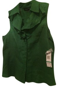 Jones New York Top Safari Green