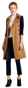 Anthropologie Colorblock Trench Trench Coat