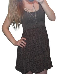Boutique short dress Brown Summer Eyelet Lace on Tradesy