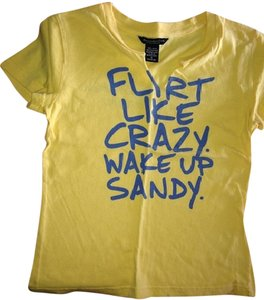 Abercrombie & Fitch T Shirt Yellow