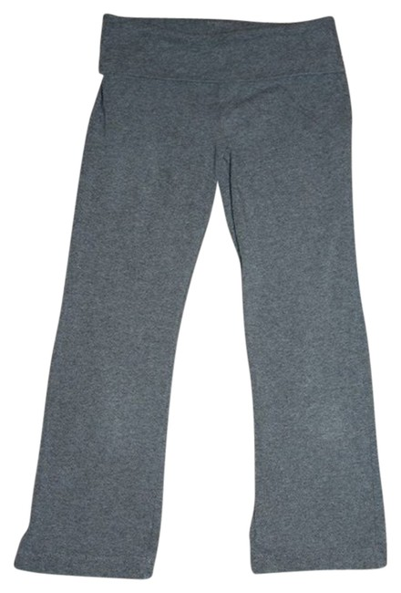 Express Yoga Pants Running Gym Capris Grey