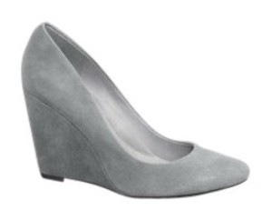 Kenneth Cole Grey Wedges