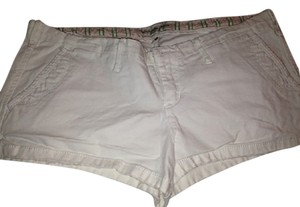 Abercrombie & Fitch Short Sexy Spring Mini/Short Shorts white