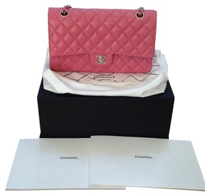 Chanel Medium Lambskin Quilted Leather Double Flap New Shoulder Bag