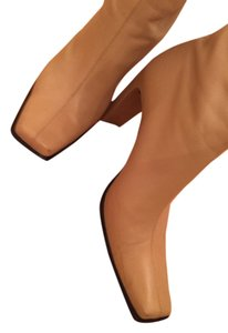 Charles David Comfortable Beige Boots