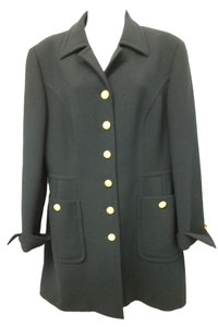 Escada Wool Coat BLACK Jacket