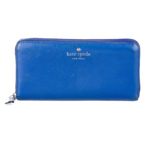 Kate Spade Kate Spade Blue Cedar St. Patent Lacey Wallet in Orbit New With Tags