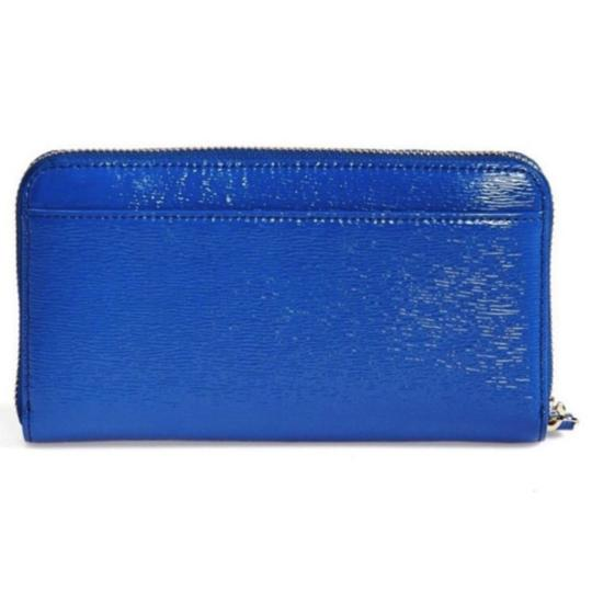 Kate Spade Kate Spade Blue Cedar St. Patent Lacey Wallet in Orbit New With Tags Image 2