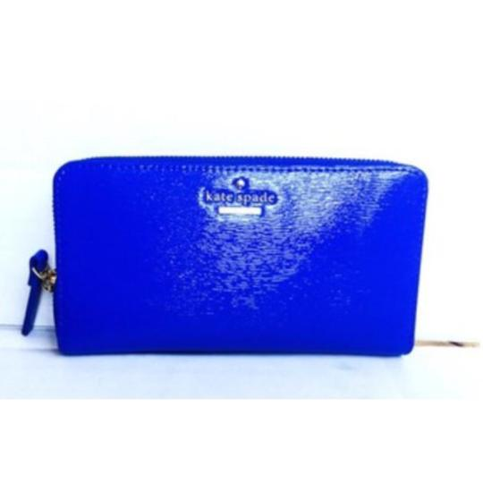 Kate Spade Kate Spade Blue Cedar St. Patent Lacey Wallet in Orbit New With Tags Image 6