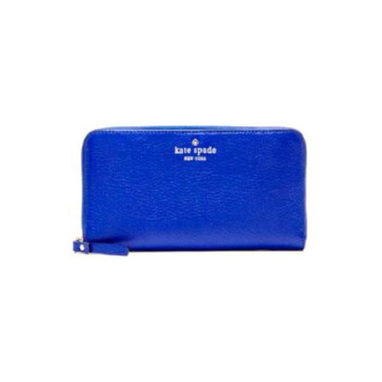 Kate Spade Kate Spade Blue Cedar St. Patent Lacey Wallet in Orbit New With Tags Image 8