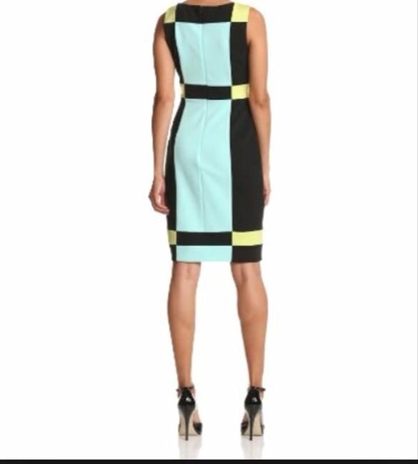 Maggy London Color-blocking Dress