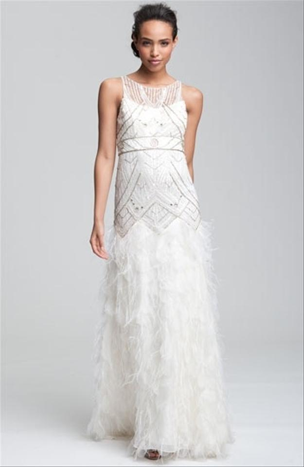 Sue wong art deco style gatsby style wedding dress for Art deco wedding dresses
