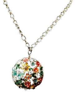 Not Rated Multi Colored Vintage Necklace