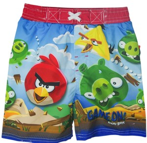 Angry Birds Angry Birds Suffer Shorts for Boys Size 2T