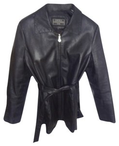 LUCKY LEATHER Black Genuine Leather Jacket