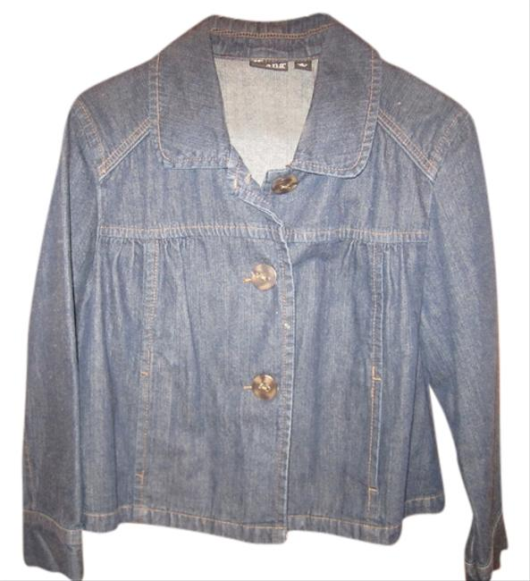 Preload https://item3.tradesy.com/images/ana-jeans-blue-button-denim-womens-jeans-jacket-885682-0-0.jpg?width=400&height=650
